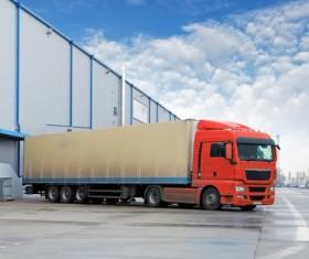 Truck Freight Transport Logistics Stock Photo 03