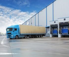 Truck Freight Transport Logistics Stock Photo 04