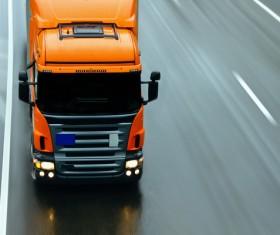 Truck Freight Transport Logistics Stock Photo 06
