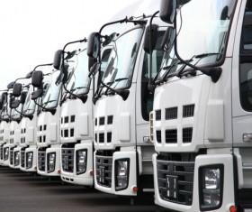Truck Freight Transport Logistics Stock Photo 08