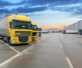 Truck Freight Transport Logistics Stock Photo 10
