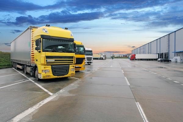 Truck Freight Transport Logistics Stock Photo 10