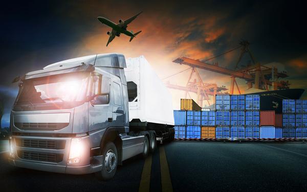 Truck Freight Transport Logistics Stock Photo 11