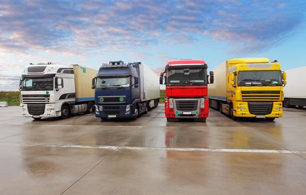 Truck Freight Transport Logistics Stock Photo 14