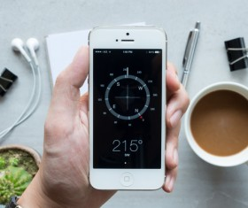 Use Social Media Apps on iPhone Stock Photo 06