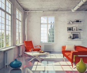 Various Interior Design Stock Photo 08
