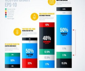 Vector chart infographic template 07