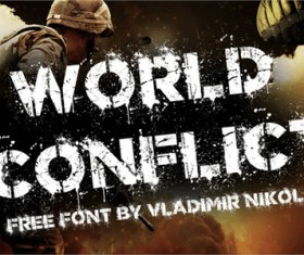 World Conflict Font