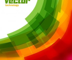 abstract blur technology background vector 03
