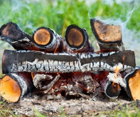 campfire Stock Photo 02