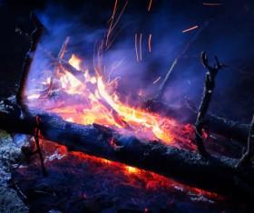 campfire Stock Photo 07