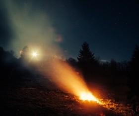 campfire Stock Photo 08