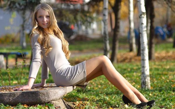 Kilt Long Legs Girl Stock Photo Free Download