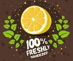 lemonade juice poster template vector 02