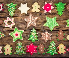 All kinds Christmas cookies Stock Photo 01