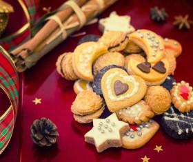 All kinds Christmas cookies Stock Photo 02