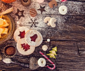 All kinds Christmas cookies Stock Photo 03