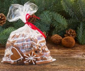 All kinds Christmas cookies Stock Photo 04