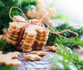All kinds Christmas cookies Stock Photo 05