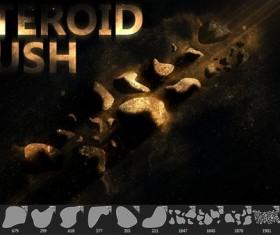 Asteroid Photoshop Brushes