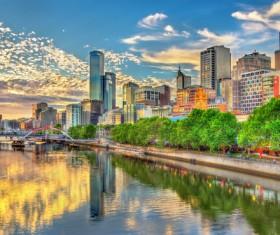 Australian city buildings Stock Photo 02