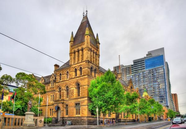 Australian city buildings Stock Photo 05