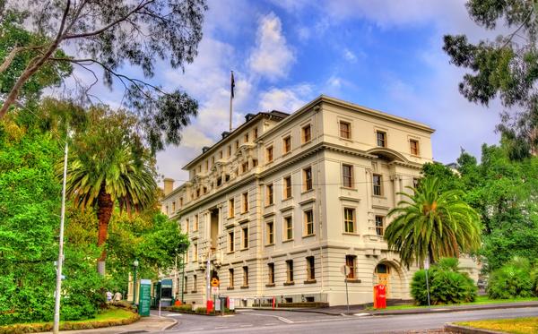 Australian city buildings Stock Photo 08