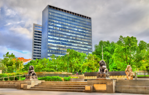 Australian city buildings Stock Photo 12