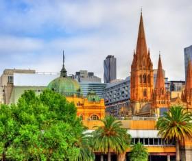Australian city buildings Stock Photo 15