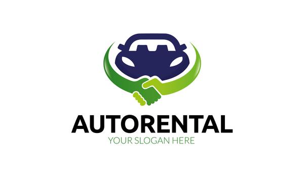 Auto Rental Logo Vector Vector Car Free Download