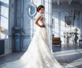 Beautiful brides wedding photo Stock Photo 02