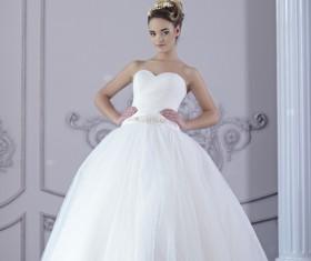 Beautiful brides wedding photo Stock Photo 05