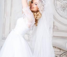 Beautiful brides wedding photo Stock Photo 06