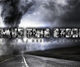 Brave this Storm Personal USE font