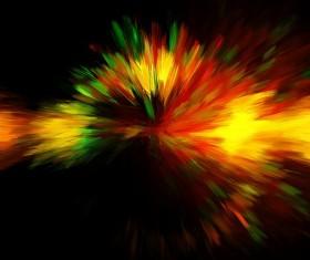 Bright Explosive Textures Stock Photo 02