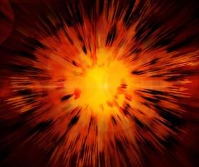 Bright Explosive Textures Stock Photo 04