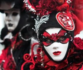 Carnival Sicily Acireale Stock Photo 02