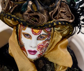 Carnival Sicily Acireale Stock Photo 06
