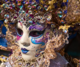 Carnival Sicily Acireale Stock Photo 08