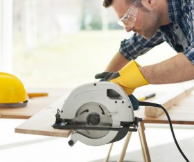 Carpentry are working Stock Photo 05