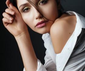 Charming beautiful woman Stock Photo
