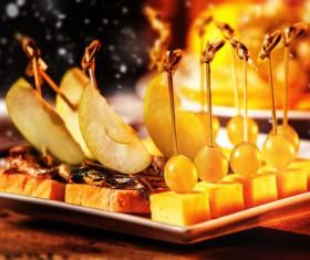 Christmas delicious food Stock Photo