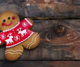 Christmas gingerbread Stock Photo 01