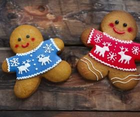 Christmas gingerbread Stock Photo 02