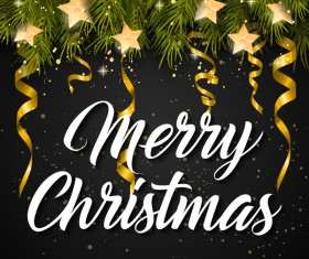 Merry Christmas Vector For Free Download