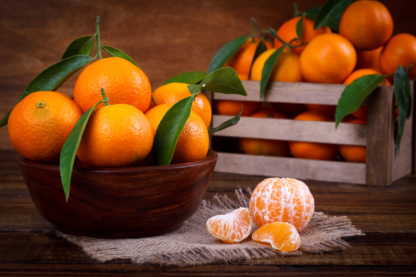 christmas oranges stock photo - Christmas Oranges