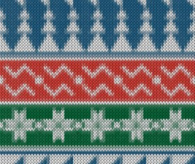 Christmas sweater seamless pattern vector 01