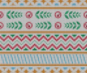Christmas sweater seamless pattern vector 04