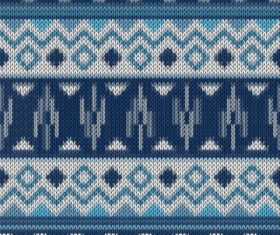 Christmas sweater seamless pattern vector 06