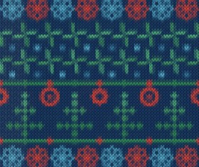 Christmas sweater seamless pattern vector 07